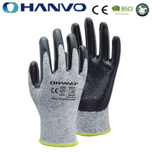NE352 Cut 5 Safety And Industrial Nitrile Coated Gloves