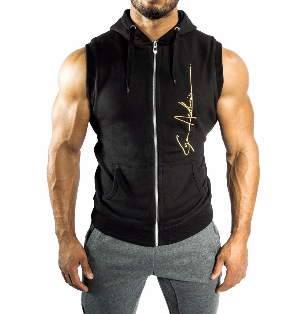 rmelloses zip hoodie billige rmellose training pullover leer herren rmellos hoodie buy. Black Bedroom Furniture Sets. Home Design Ideas
