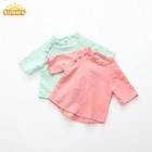 New Design wholesale Spring Cotton Baby Girl T-Shirt