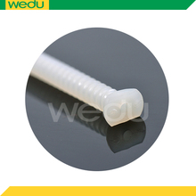 Medical absorbable full thread hollow fracture screw