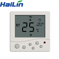 Beijing Hailin Controls 3-speed wifi fan coil unit thermostat