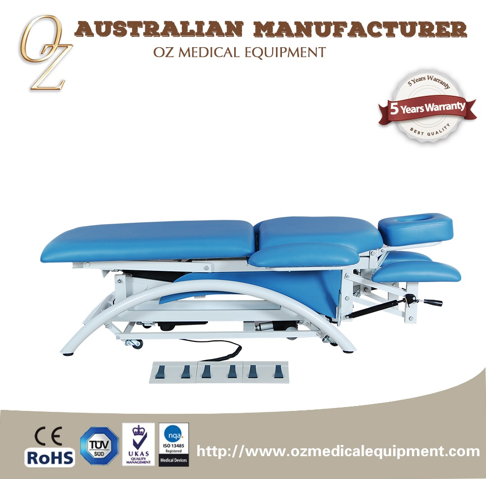 Cardiac chair hospital bed - Electric Cardiac Table Bariatric Hospital Bed Osteopathic Treatment Table