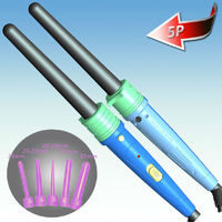 Hair Curling Wand Curls, 5P Size Barrel for Different Style Hair Curls