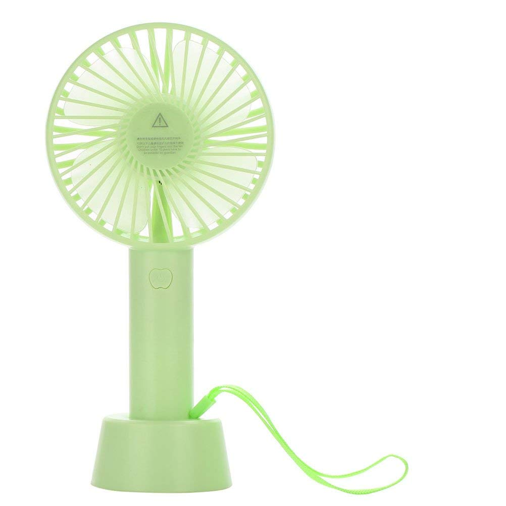 ViewHuge Portable Mini Handheld Fan,USB Rechargeable Fan-Personal Portable Cooling Fan for Home Travel Office Outdoor Activities 3 Setting Speeds