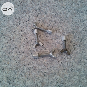 Iron screw buckle install for granite countertops undermount sinks