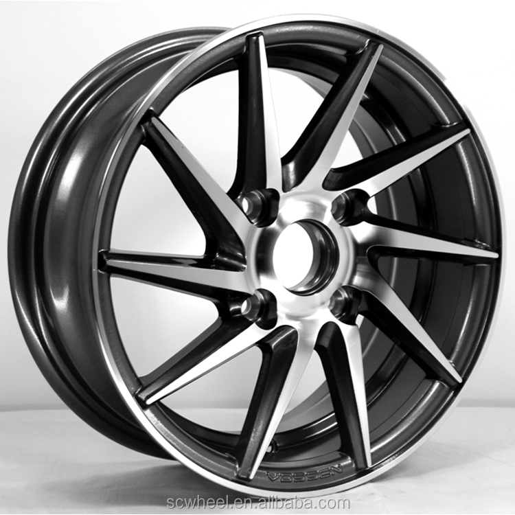 14/15/16/17/18inch vossen replica wheel rim alloy car rims SC Racing