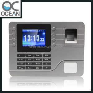 Employee Time Attendance Tracking Products with Software Time Recorder Card  Punch Machine