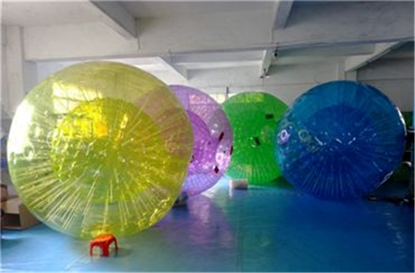 inflatable race track glowing human hamster ball