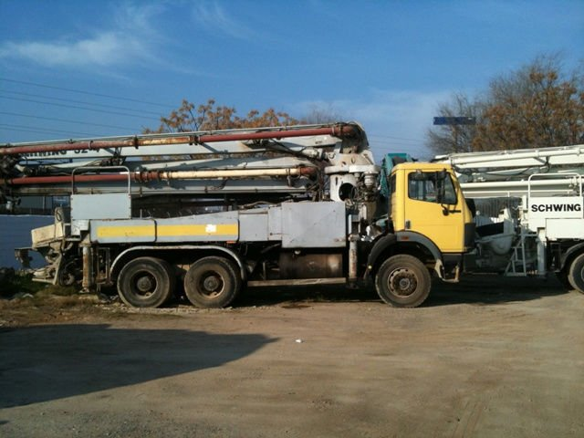 Schwing Concrete Pump 32mts On Mercedes 2629 - Buy Concrete Pump Truck  Product on Alibaba com