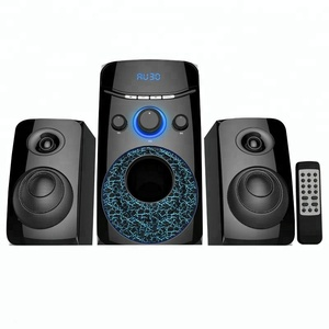 Museeq Top Selling 2.1 Home Theater Sound System With Colourful Rgb Light For Home/Karaoke/Pc