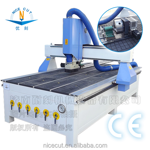 3d carving cnc router wood 1325 cnc routerr china supplier ceramic tile working area 1300mm*2500mm for wood pvc