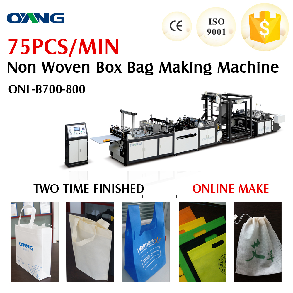 ONL-B model non woven shoes bag making machine price