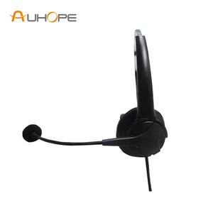 Call Center Noise Cancelling Monaural Wired Operator Headset