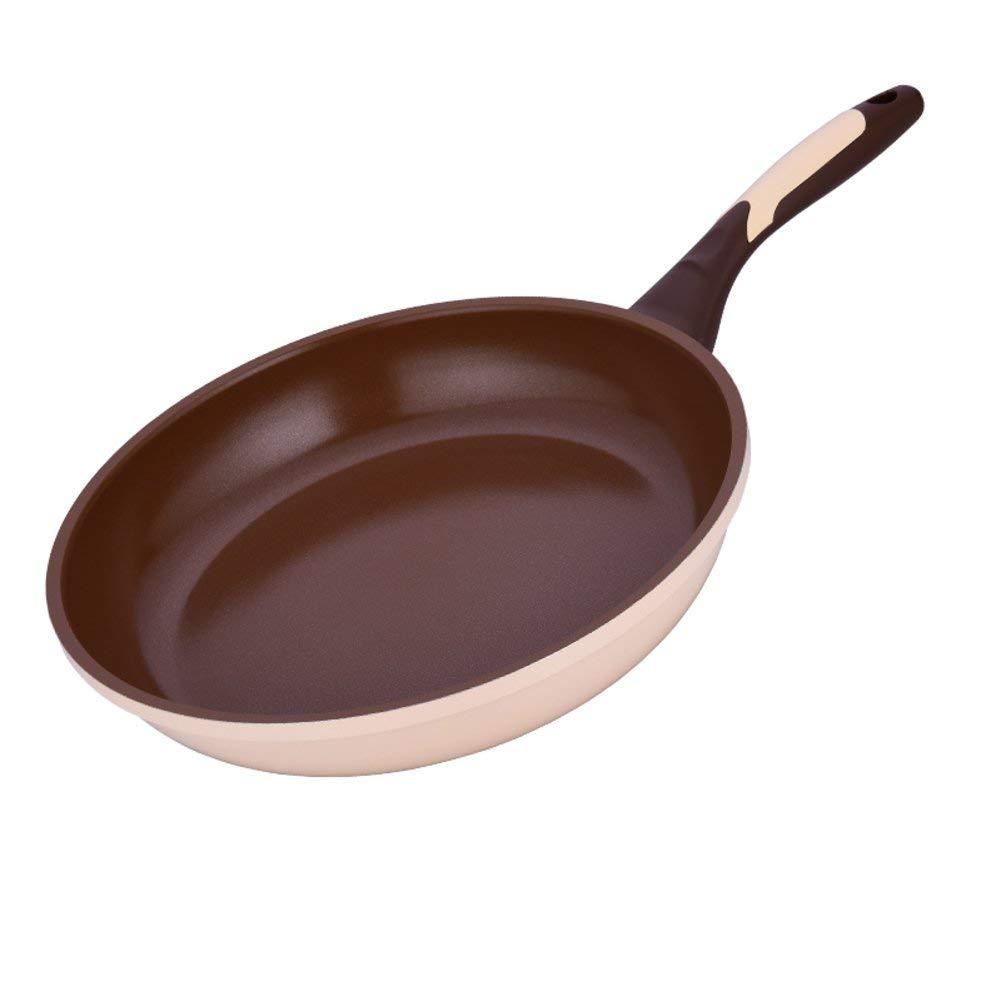 Frying pans,Nonstick grill pot No fumes Steak pot Frying pans Nonstick grill 9.5 Inch 24cm-B