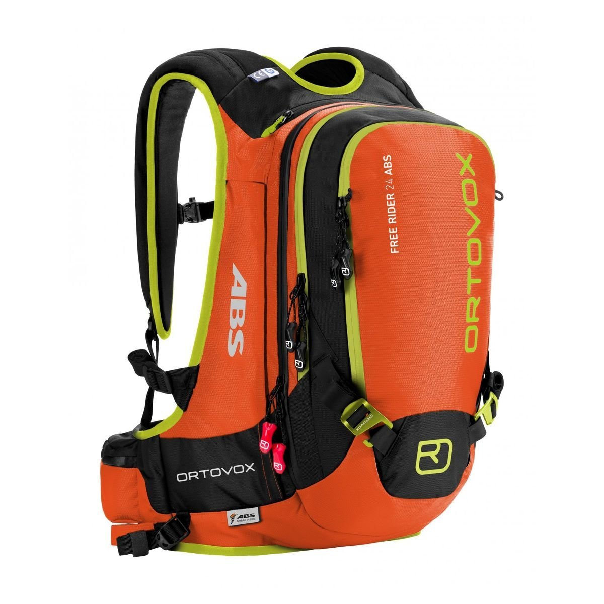 a9d840f502c Ortovox FreeRider 24 ABS Snow Avalanche Backpack Complete Set with M.A.S.S  Airbag S/M