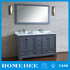 factory price double sink bathroom cabinet with high quality