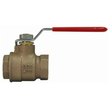 Blow-out Proof Stem PTFE Seat Bronze 2-PC Ball Valve with Lever Handle