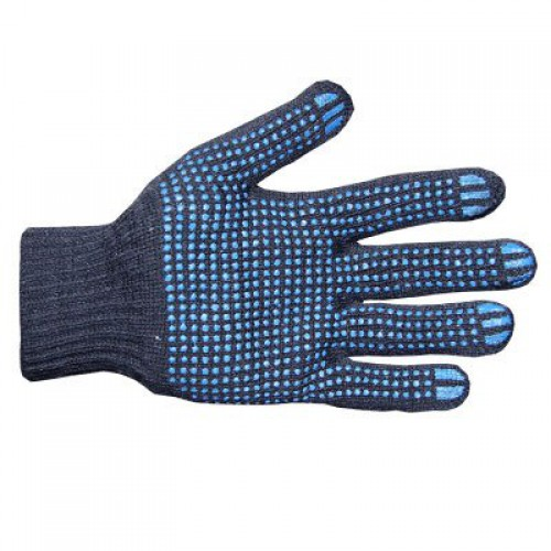 Brand MHR X Shape Single Side Rubber Dotted Gloves