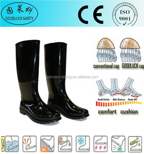 Gardening Cheap PVC Safety Rain Boots/PVC Safety Rainboots