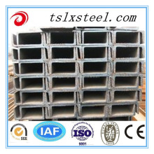 Construction hot rolled steel struct u channel / U channel steel size