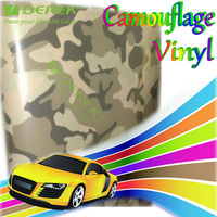 DEREK Camouflage Car Vinyl Film with Air Free Bubbles Camo Car Stickers/Size:1.52*30m