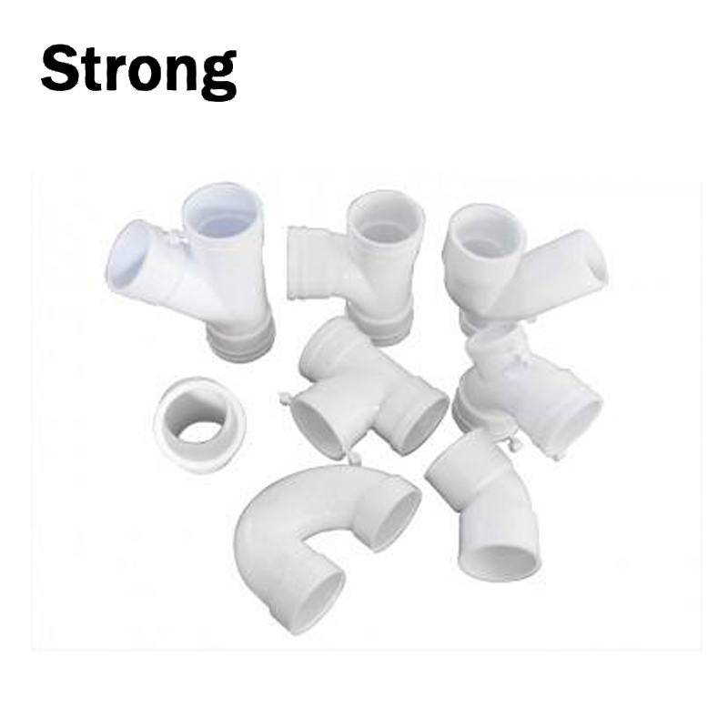 Custom Plastic Water Connection fittings Pipe Connection Molding Water Tube Connection