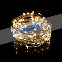 100 LEDs Copper Wire 33ft Bright Light Dimmable Led String Lights