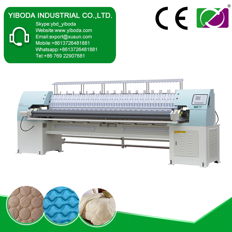 Professional multi head computer embroidery machine for sale