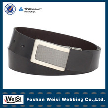 Wholesale price ladies leather braided belts for girl