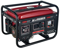 LingBen 2Kw 5Kw Air Cooled Small Portable Lpg Gas Generator Set Pakistan