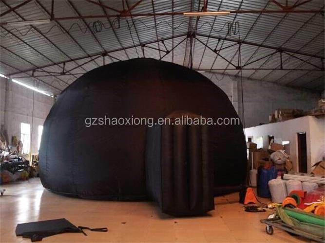 Factory sale best price folding inflatable small movie theatre,portable inflatable planetarium tent