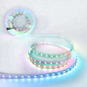 Hot Selling Digital Flexible SMD5050 Magic Dream Color DC5V Programmable RGB ws2812b LED Strip