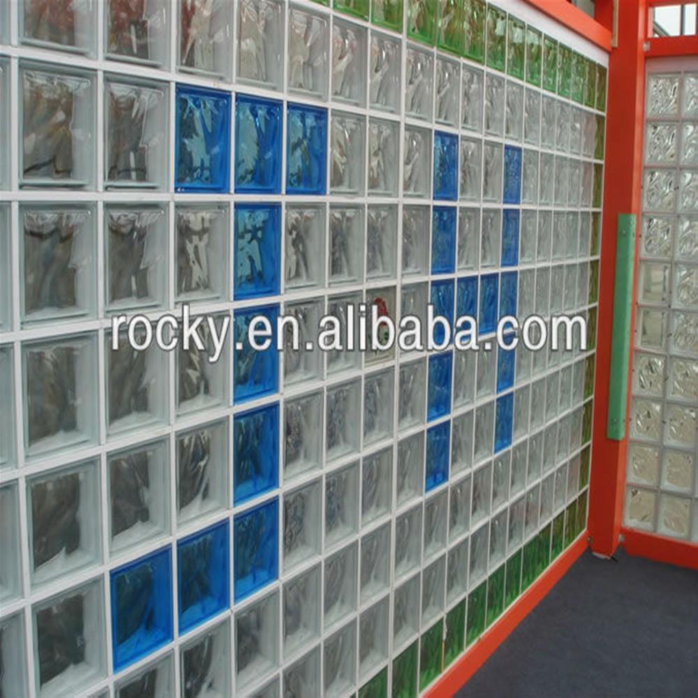 Qingdao rocky alta calidad bajo precio pared interior y - Precio del vidrio ...