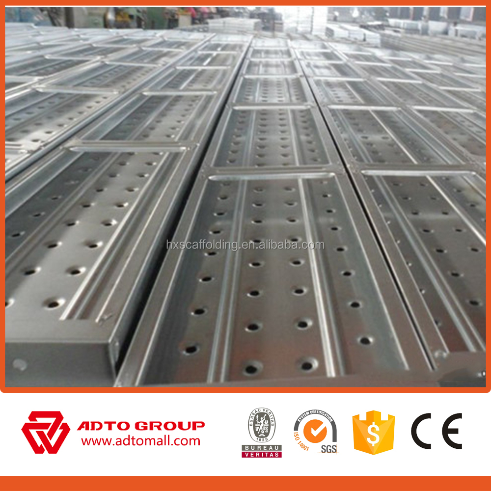 High Quality Scaffodling Plank Steel Deck Made in China
