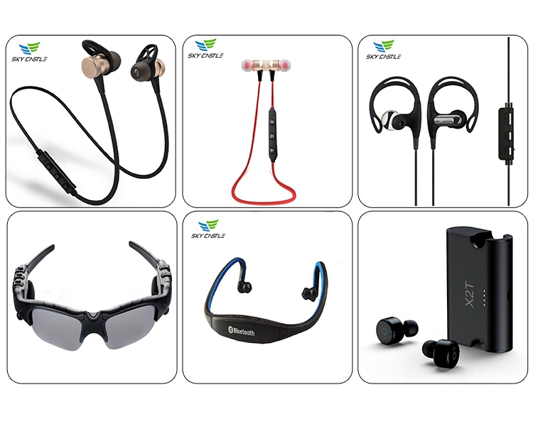 Brand new wireless earbud for running headphones mini sport bluetooth stereo headset