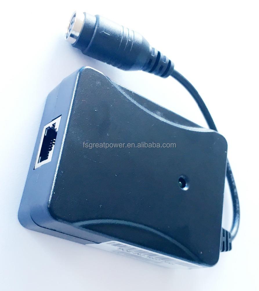 PoE Injector for VoIP,IP Camera,5v~48v use