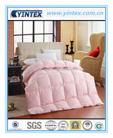 233TC Downproof Cotton Duck Goose Down Pink Quilt Duvet Comforter
