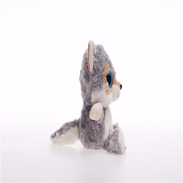 Cute Pug Dog Brand Logo Company: Manufacturer Wholesale Kawaii 19cm Ty Plush Wolf Toys Cute