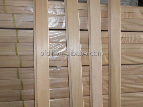 lengua y acanalado de alta calidad sauna de madera abachi paneles para pared interior paneles de