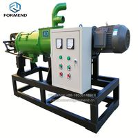 Cow dung solid liquid separator dewatering machine