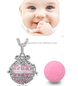 2017 New Arrivals Snowflake Design Bola Chime Ball Harmony Bola Angel Call Ball 20mm