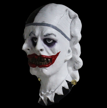 clown mask latex