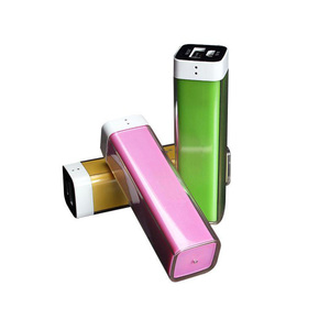 2600mAH Rechargeable power ban/ Lipstick power bank with high quality