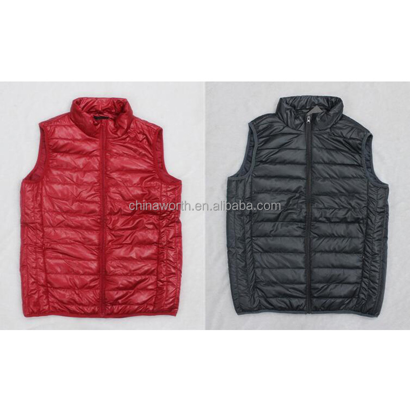 winter padding buy excess inventory waistcoat