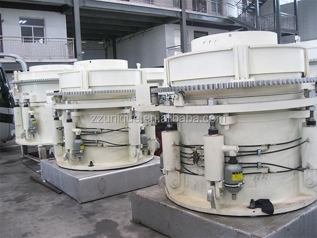 Único giratorio hidráulico cono trituradora para la venta