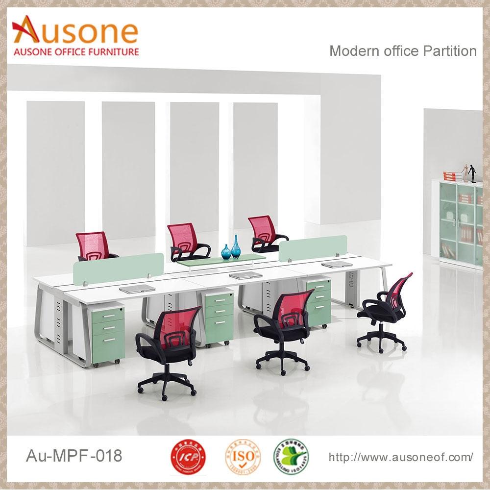 Espacio abierto moderno mobiliario de oficina patas de la for Mobiliario oficina moderno