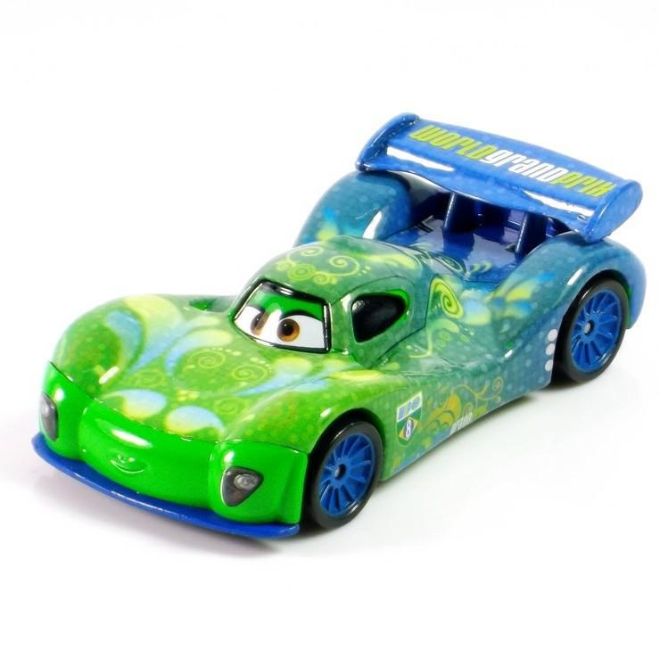 Disney Pixar Cars 2 Blazing Speed 6 Piece 100/% Cotton Washcloth Set Multi
