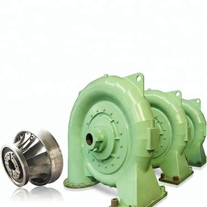 Hydro Power Plant Parts 1000kw Francis Turbine