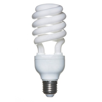 6000h 28w 40w 65w energy saving lamp bulb e27/b22 half spiral for home light