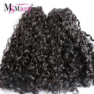 Factory Direct Supply Grade 12A Double Drawn Virgin Pixie Curl Funmi Hair